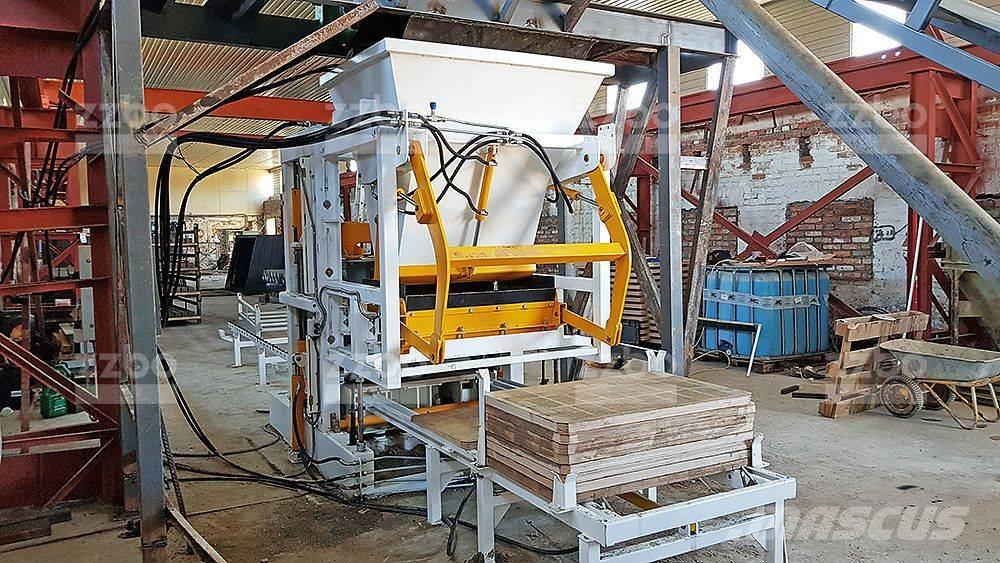 ZZBO MAXIMAL block making machine / вибропресс