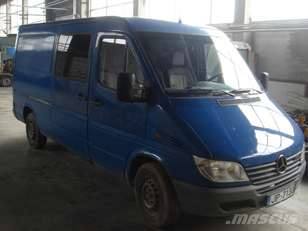 Used mercedes benz sprinter 213 box body year 2002 price for Mercedes benz sprinter rental price