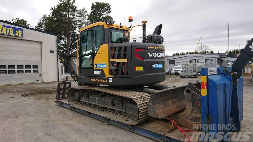 Volvo ECR 145 EL, UTHYRES