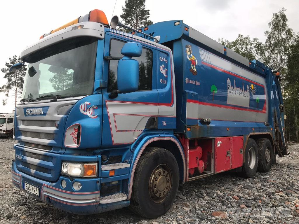 [Other] SOPBIL SCANIA P380 6X2 2008