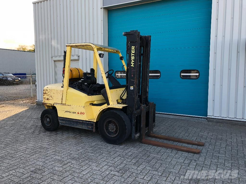 Hyster Heftruck, 4 Ton, LPG, H4.00XM-6