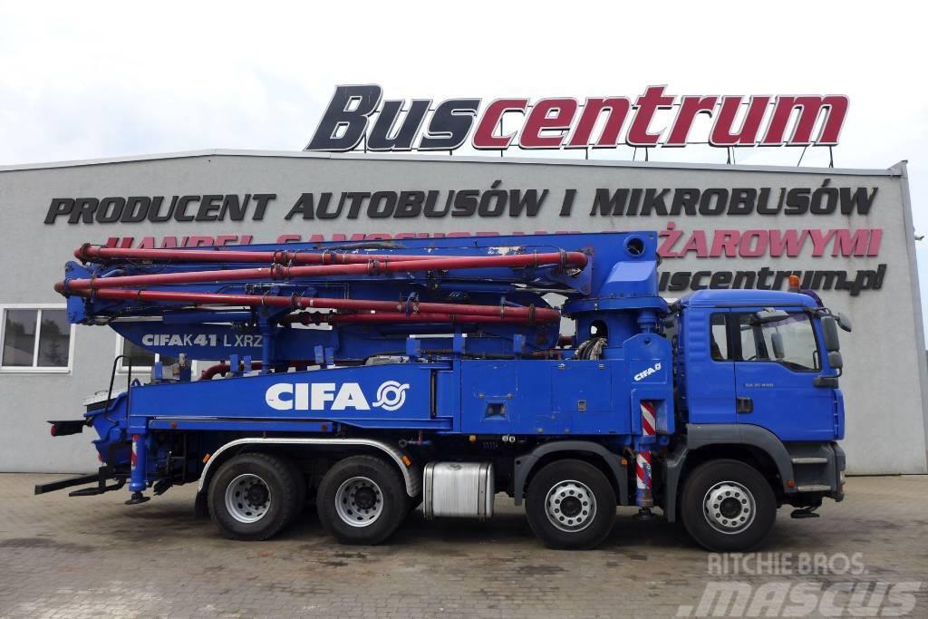 MAN TGA 35.440 8x4 Pump CIFA 41m