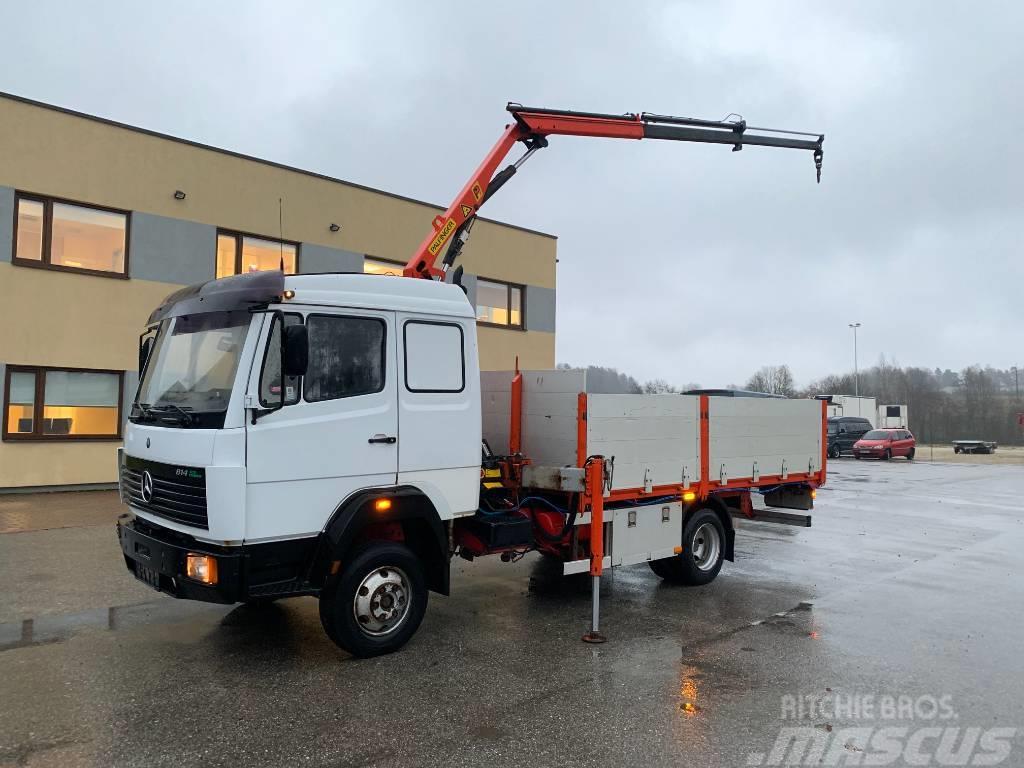 Mercedes-Benz 814 4x2+Palfinger PK3700 crane