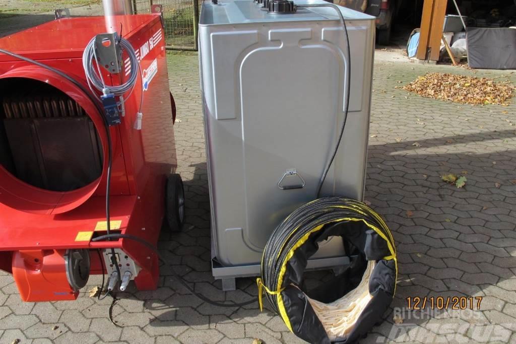 [Other] Heizung Komplett Set 174 KW Ölheizung Zeltheizung