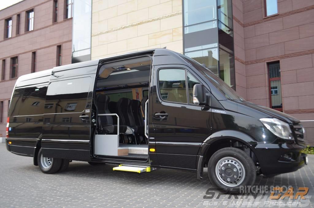 mercedes benz sprinter 519cdi preis baujahr 2016 minibusse gebraucht kaufen und. Black Bedroom Furniture Sets. Home Design Ideas
