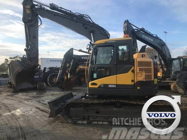 Volvo ECR145 DL (Nytt understell - 3 skuffer)