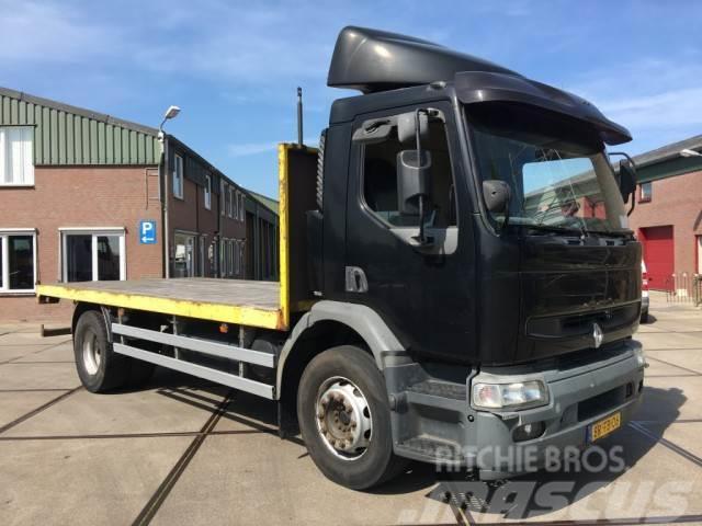 Renault MIDLUM HD 270-19 / MANUEL / EURO 3 / OPEN-PLATFORM