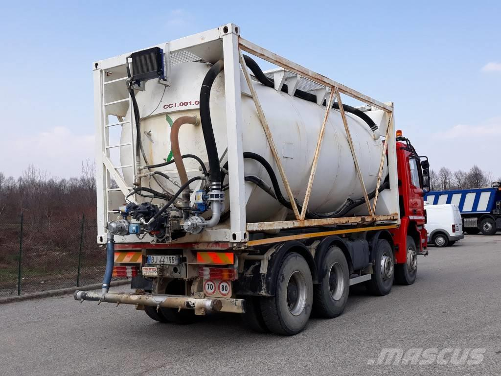 Used Mercedes-benz Actros 4144 Tanker Trucks Year  2000 Price   64 410 For Sale