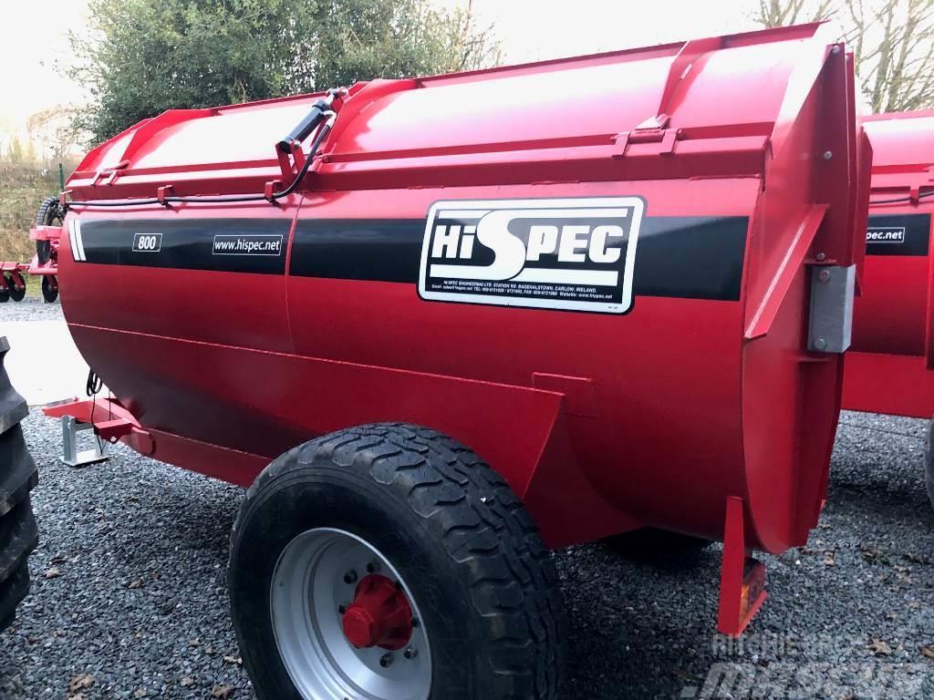 Hi-Spec 800 Side Muck Spreader