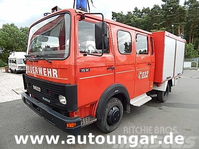 Iveco Magirus 75-14 LF 8/6 Pumpe Wassertank Feuerwehr