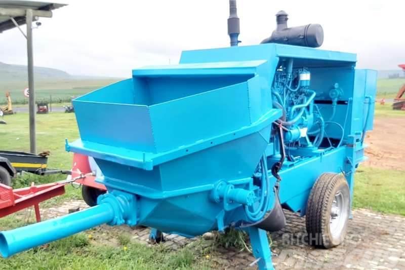 Putzmeister BSA 1409D Concrete Pump