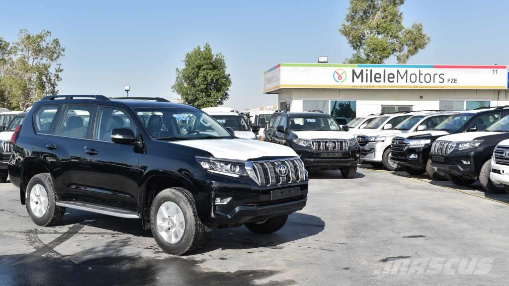 Toyota Prado VX 3.0L Diesel With Sunroof LHD