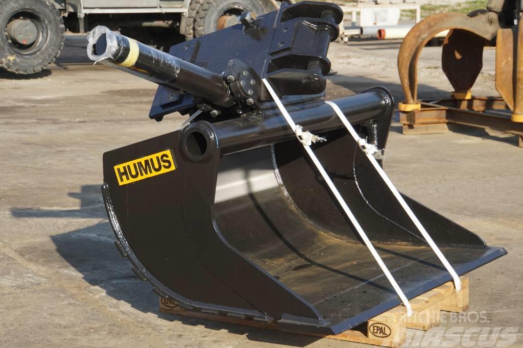 Humus Planeerkopp / tilt-bucket 1800 mm / 1000 l / NTP10
