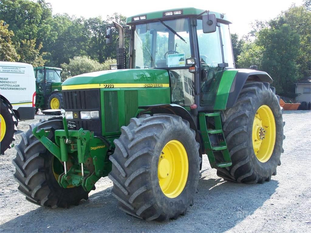john deere 7710 95213 m nchberg preis baujahr 1999 gebrauchte traktoren gebraucht. Black Bedroom Furniture Sets. Home Design Ideas