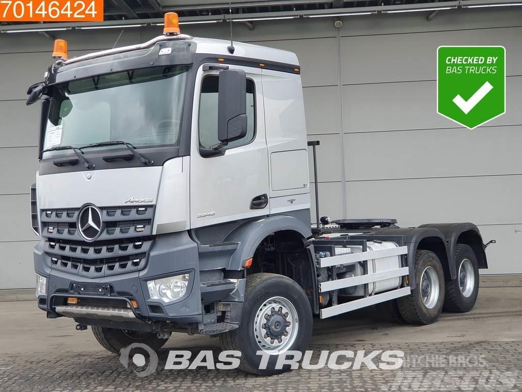 Mercedes-Benz Arocs 3345 6X4 6x6 Combi-Tipper Big-Axle Hydraulik