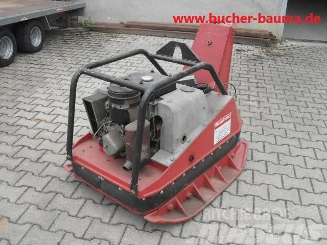 Wacker Rüttelplatte 600kg