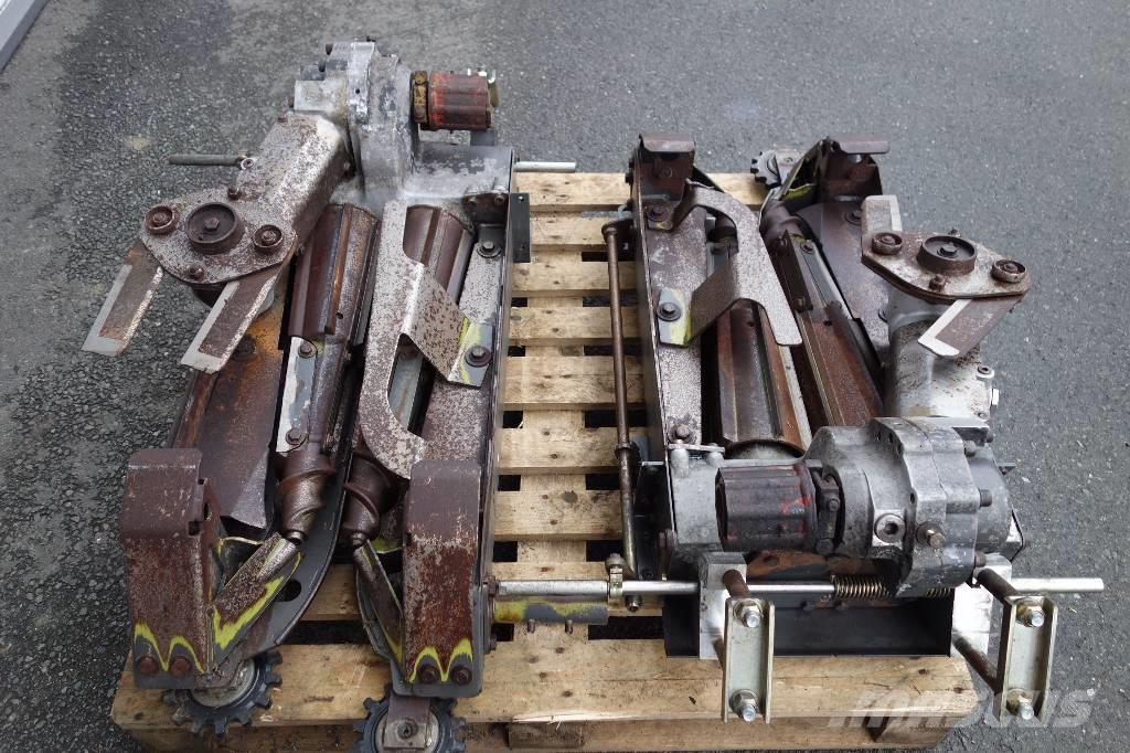 CLAAS Conspeed Getriebe/gearbox mit HZ zum FC-HR