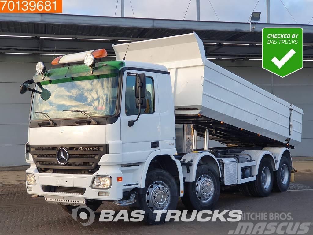 Mercedes-Benz Actros 4148 K 8X4 Big-Axle Steelsuspension