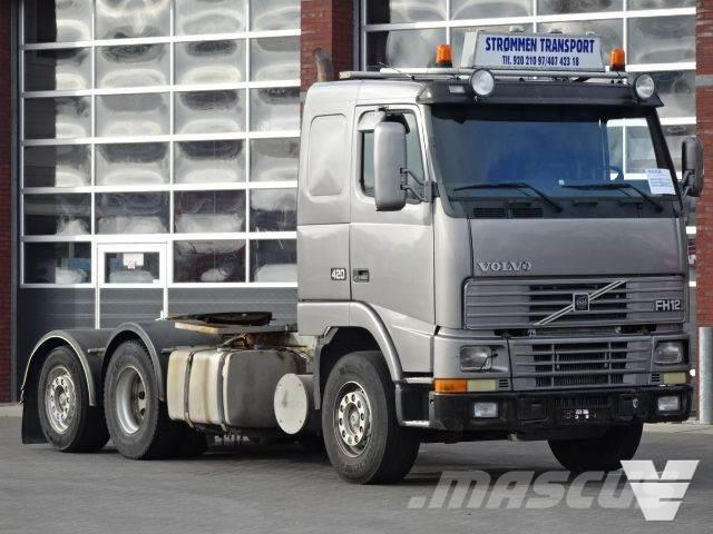 Volvo FH12-420 6x2 Manual gearbox