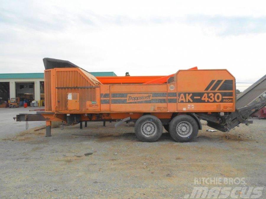 Doppstadt AK 430 PROFI shredder