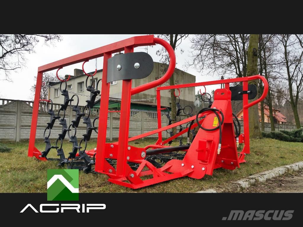 [Other] DRAG HARROW MEADOW REGENERATOR 5m hydraulic WL5H T