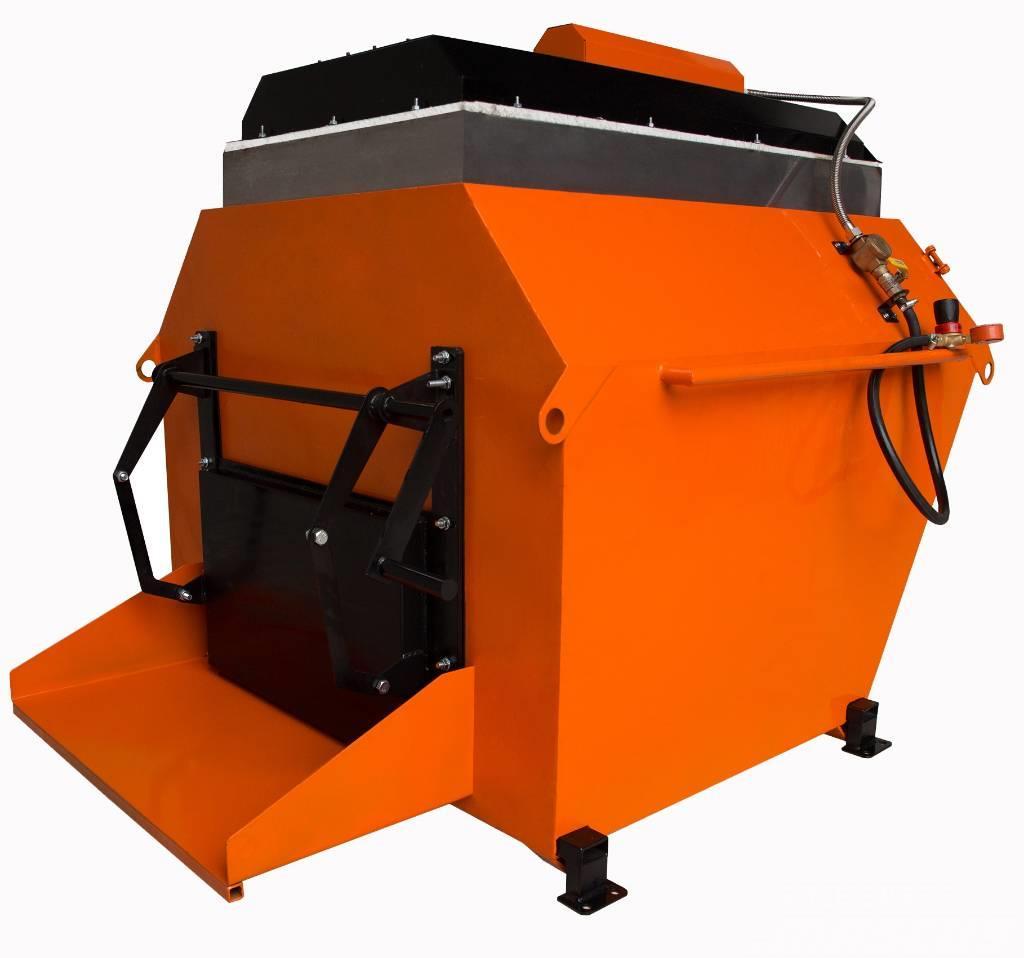 Ticab Recykler do asfaltu RA-800 POLAND