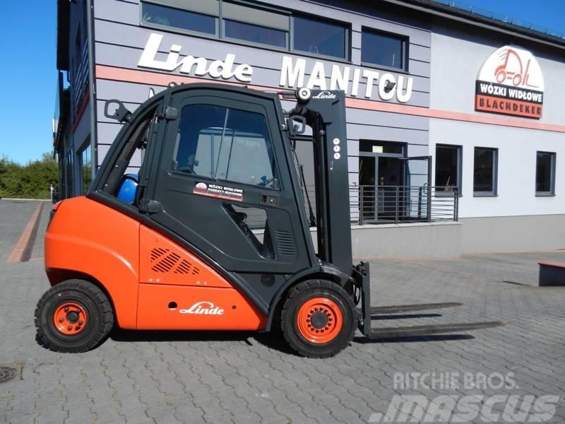 Linde Linde H35T Triplex , integrated sideshift
