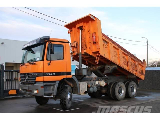 Mercedes-Benz ACTROS 3340 AK + MANUAL
