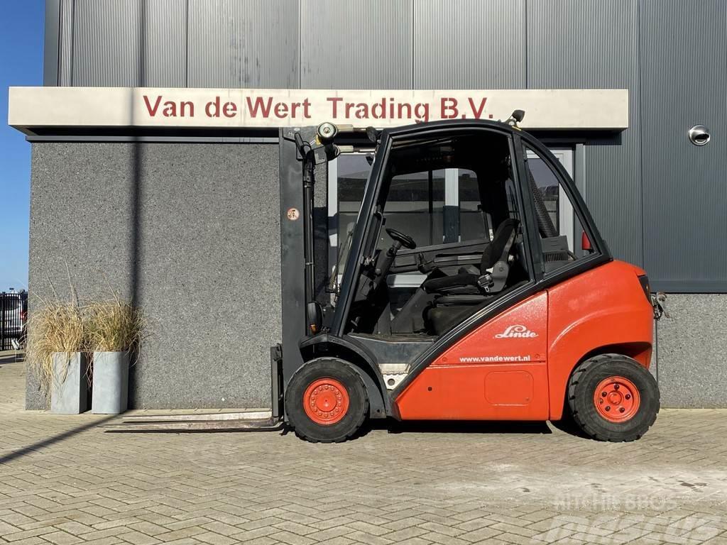 [Other] Heftruck Linde H25D 2003 Diesel DUPLO320 freelift
