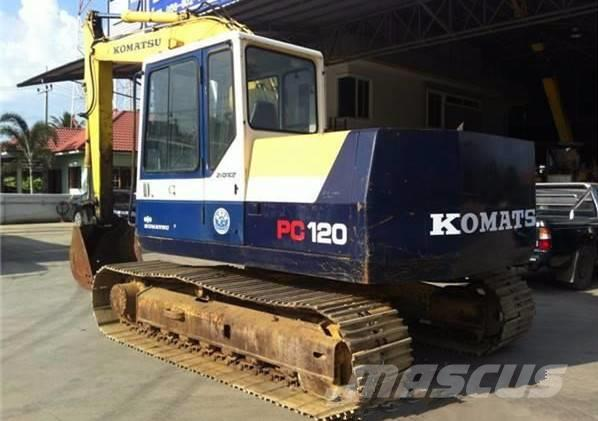 Komatsu Used PC120-5 excavator