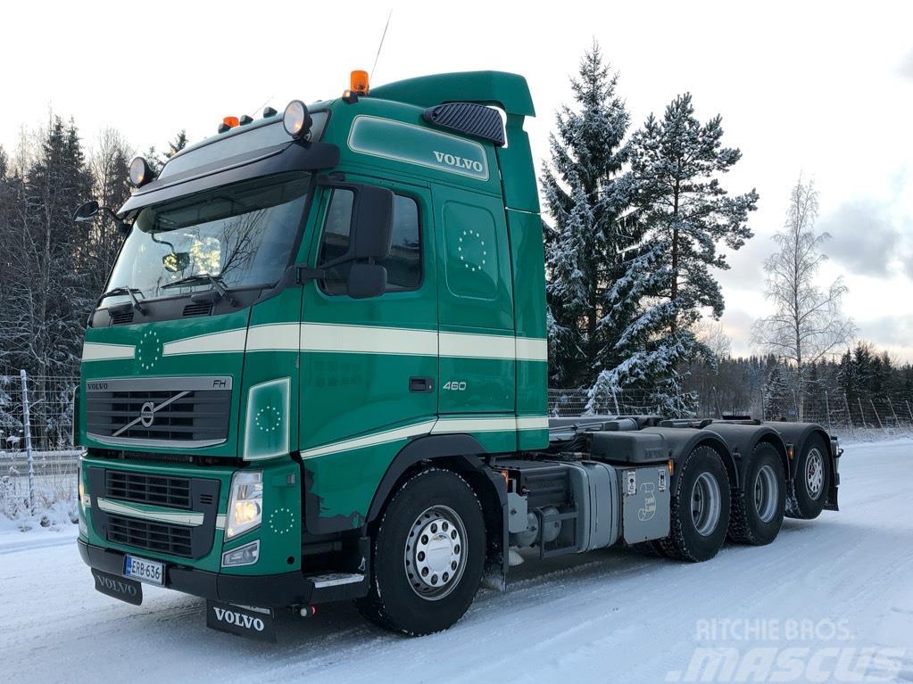 Volvo FH460 8x4*4 Tridem, Multilift XR koukkulaite