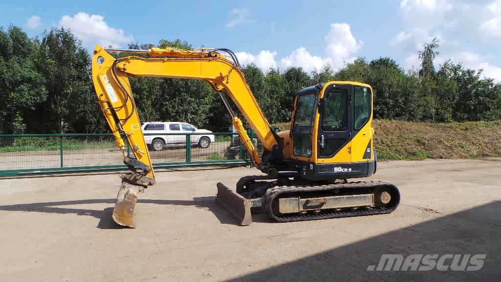 Used Hyundai Robex 80 Cr 9 Mini Excavators 7t 12t Year