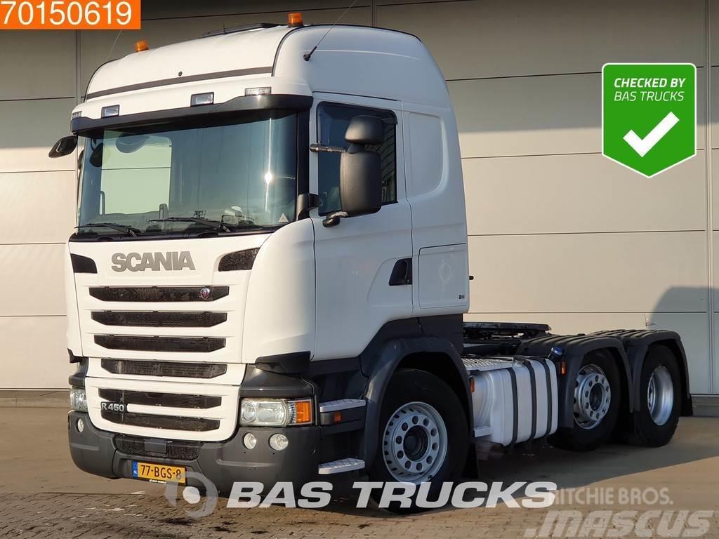 Scania R450 6X2 NL-Truck 2x Tanks Liftachse