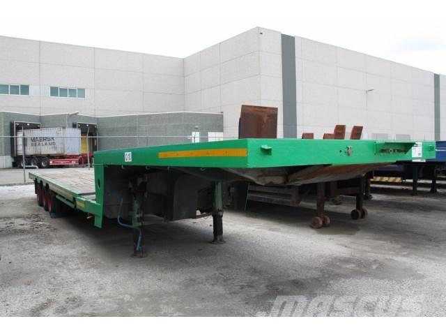Dennison DF251 semi ext. stepfr trailer