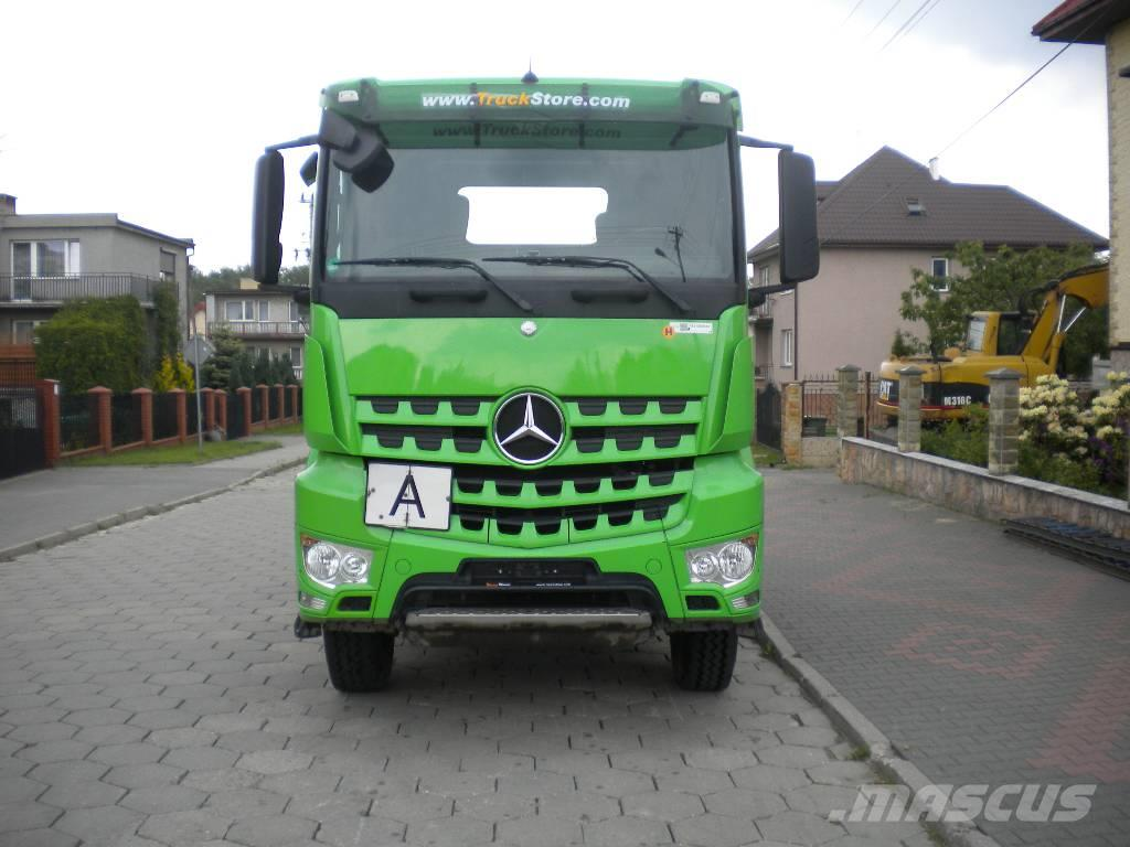 mercedes benz arocs actros 1842 as mp4 4x4 kiphydraulika. Black Bedroom Furniture Sets. Home Design Ideas