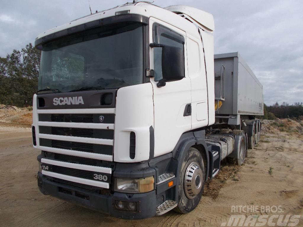 Scania 114 + NACZEPA INTERCARS 2009r.