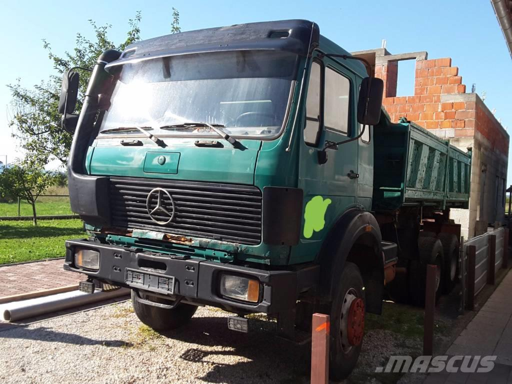 Mercedes benz 2628 ak 6x6 tipper clean tipper trucks for Mercedes benz cleaning products