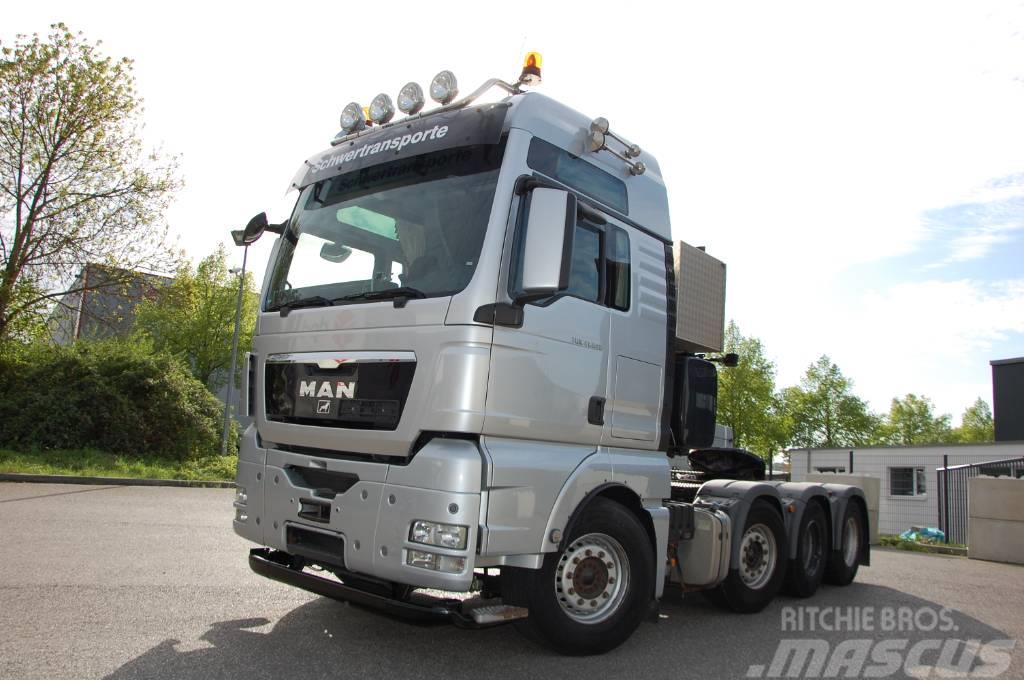 MAN TGX 41.540 8x4 BLS / 160 to / WSK / Hydraulik