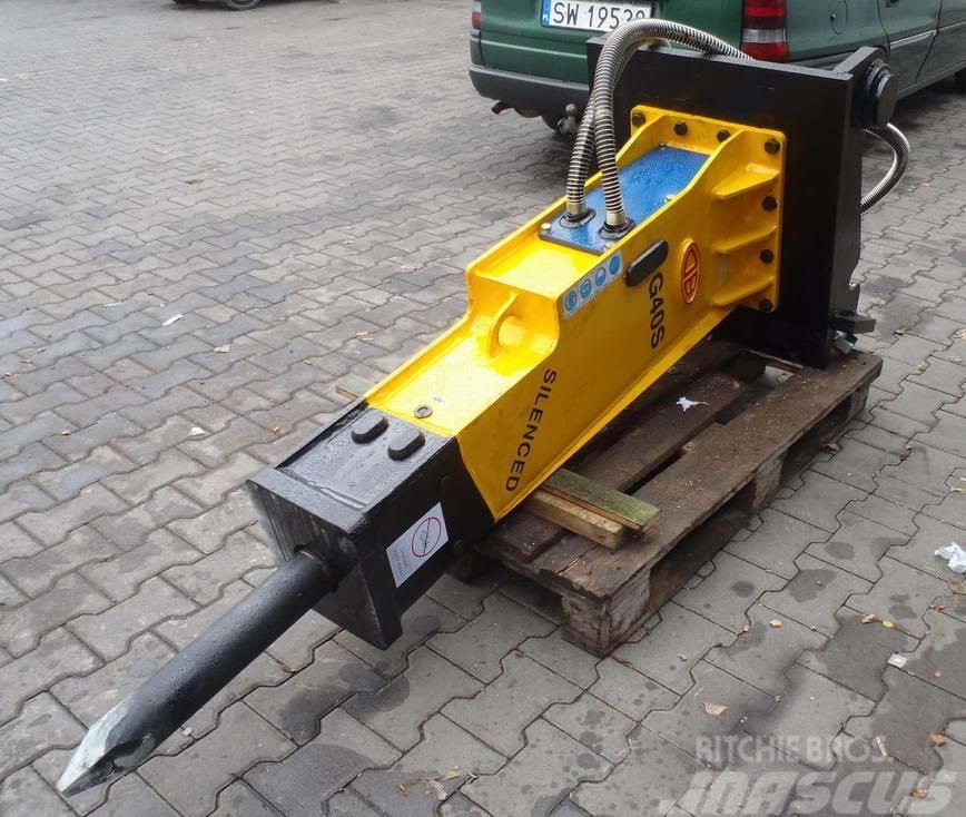 [Other] Młot hydrauliczny TUR DB G40S 570kg