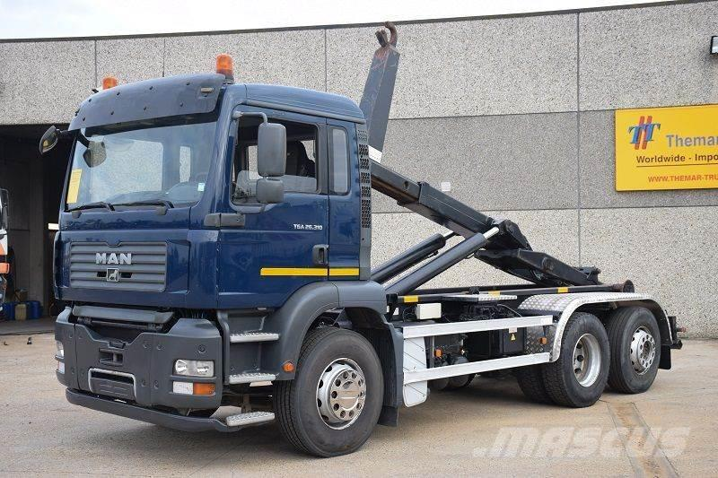 MAN TGA 26.310 6X2 CONTAINER SYSTEEM- CONTAINER SISTEE