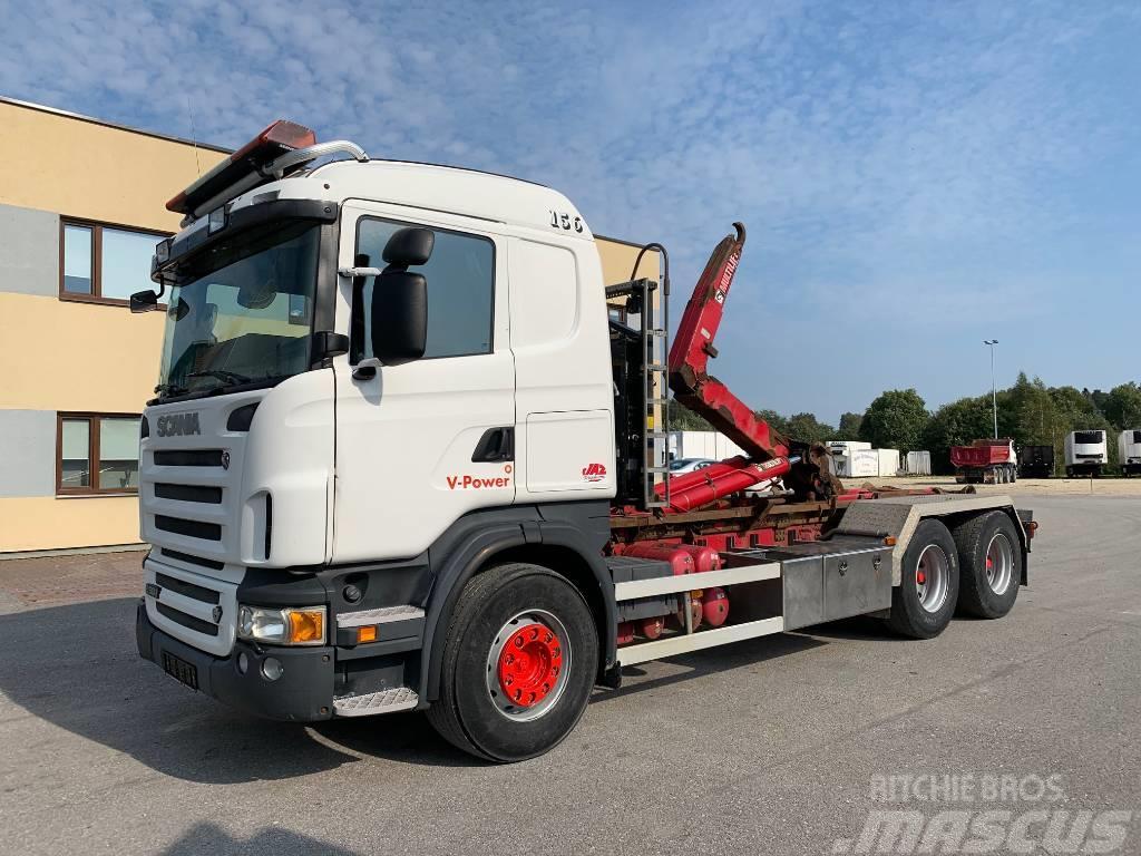 Scania R500 6x4+EURO5