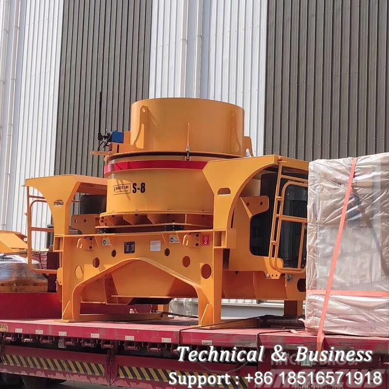 White Lai s8 SAND MAKER MACHINE