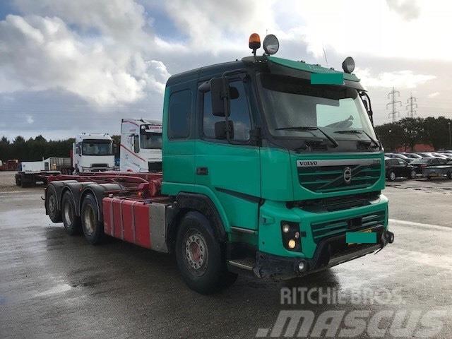 Volvo FMX480 8x4 tridem