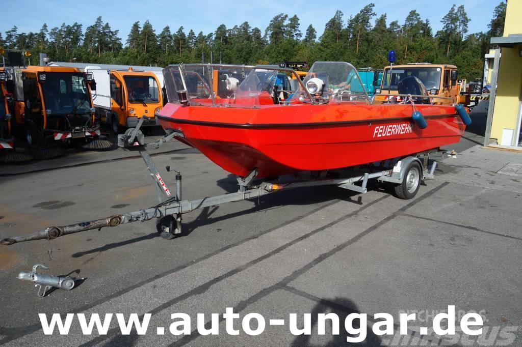 [Other] M. Hühnke TX 510 Feuerwehrboot Arbeitsboot RTB 70P