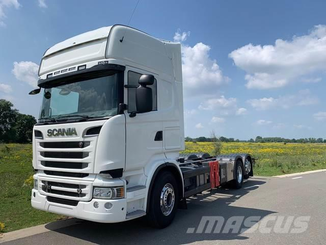 Scania R730 / TOPLINE / AUTOMATIC / RETARDER / 6X2 / EURO