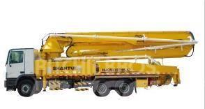 Shantui HJC5320THB 45M Trailer-Mounted Concrete Pu
