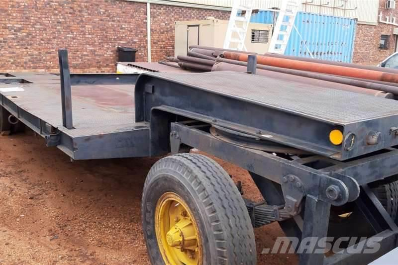 [Other] USED 2 AXLE TRAILER WITH DOLLY