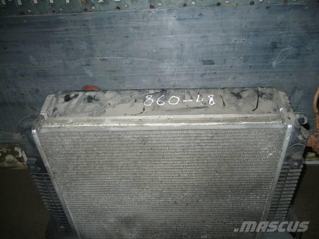 Mercedes-Benz ATEGO 1523 radiator and intercooler