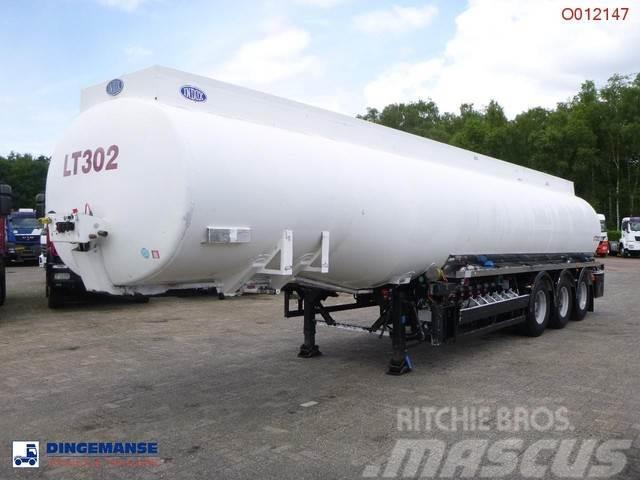 Indox Fuel tank alu 42 m3 / 6 comp + pump
