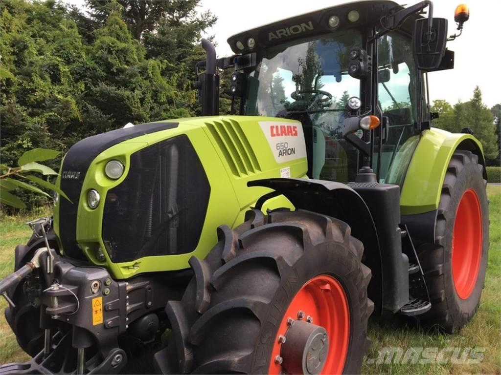 CLAAS arion 650 mit fkh